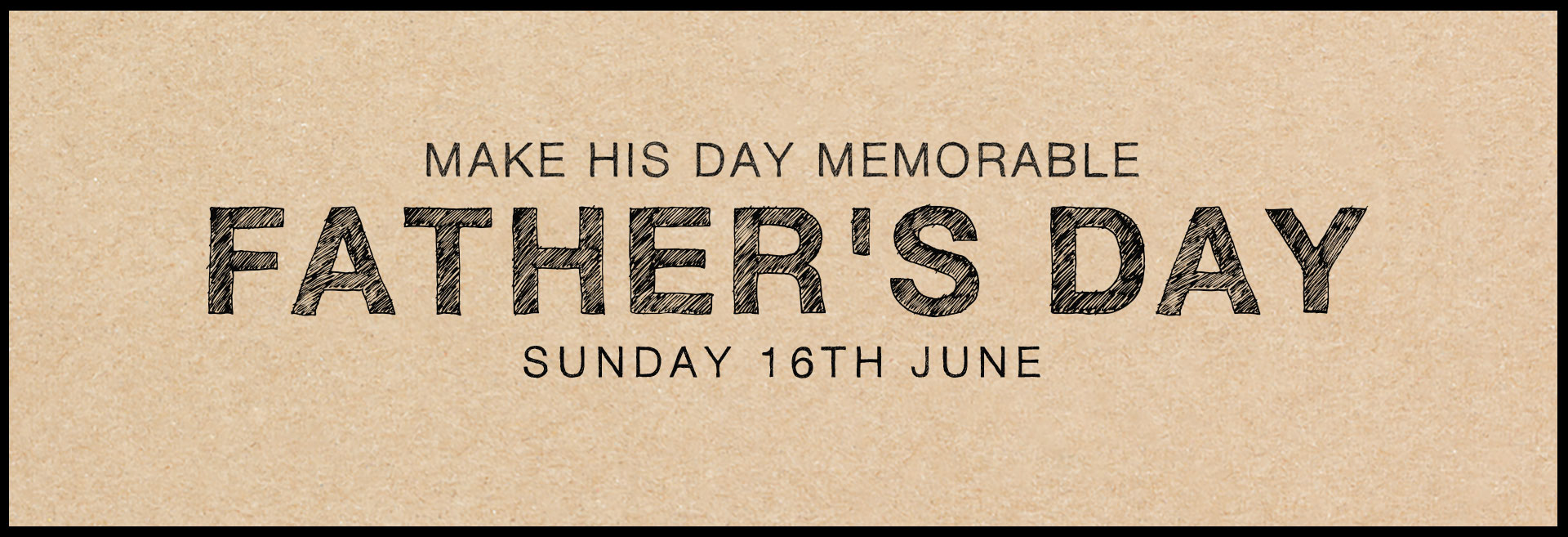 Father's Day at The Crown & Two Chairmen