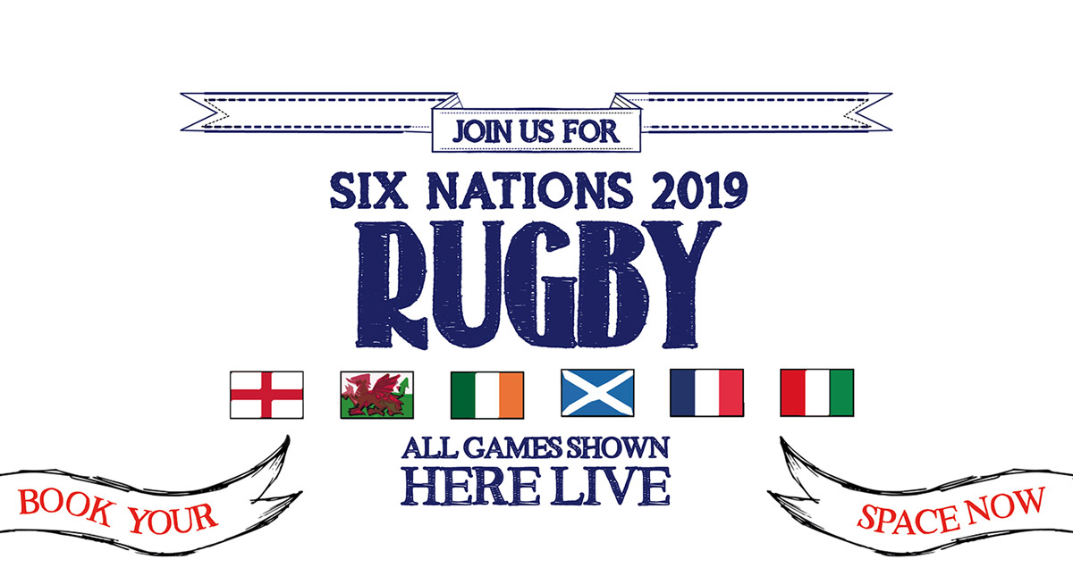 Watch the 6 Nations at The Crown & Two Chairmen in London