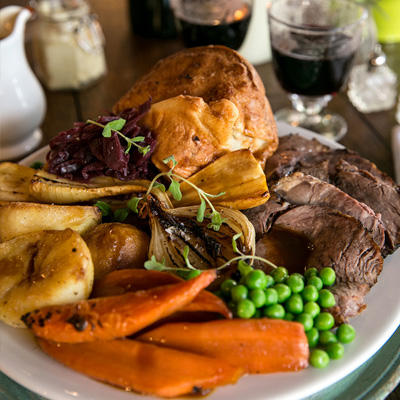 Quality Sunday food at The Crown & Two Chairmen