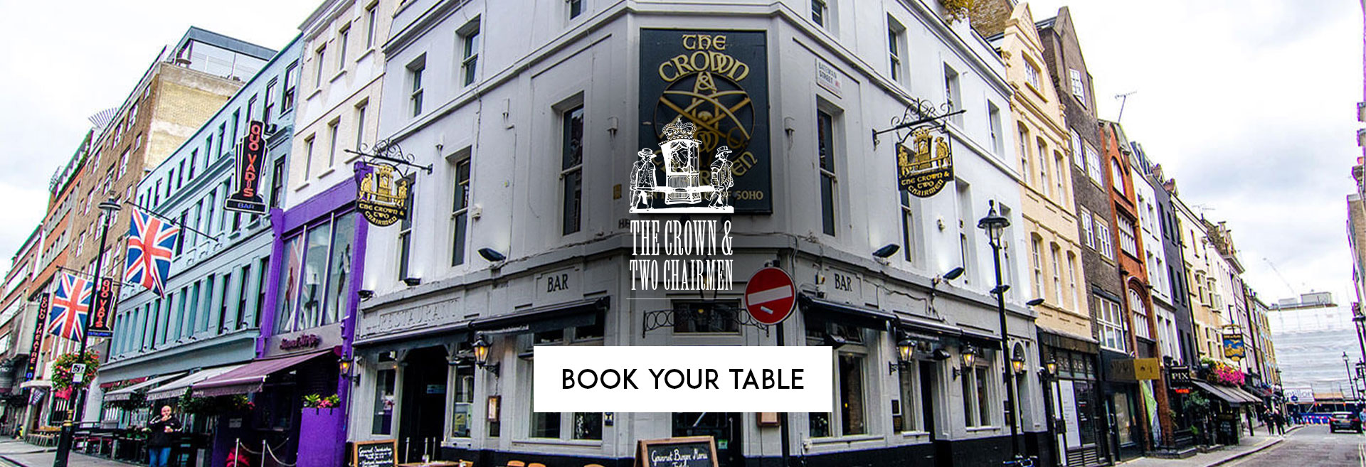 Book Your Table The Crown & Two Chairmen